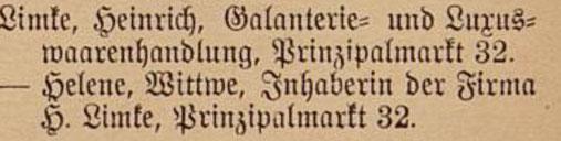 Einwohnerbuch 1899
