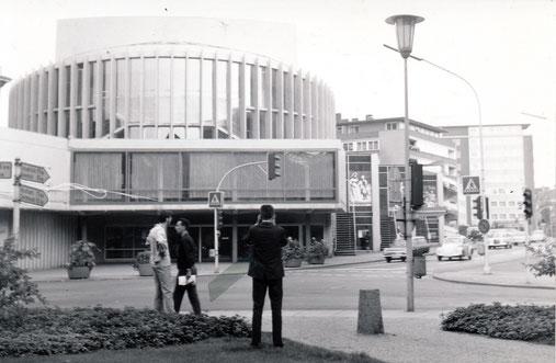 Das neue Theater - Sammlung Stoffers (Münsterländische Bank Thie - Stadtarchiv)