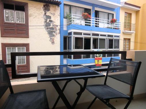 Preiswertes Apartment mit Balkon und  Gemeinschaftspool in Puerto de la Cruz auf Teneriffa , ideal für Langzeiturlaub