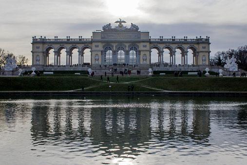 Schloss Schönbrunn, Gloriette, Weihnachten in Wien