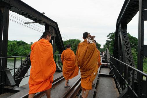 The famouus River Kwai Bridge