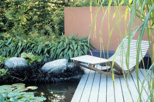Jeder Garten sollte über mindestens einen Bereich verfügen, an dem man sich wirklich entspannen kann