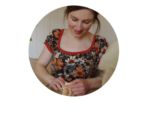 Eva Bastian Puppenmacherin Esslingen Atelier Pimpernelle