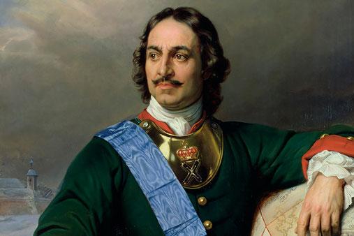 Zar Peter der Große (1838, Paul Delaroche)
