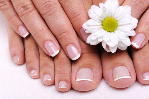 Enjoy our pedicure or manicure treatment.