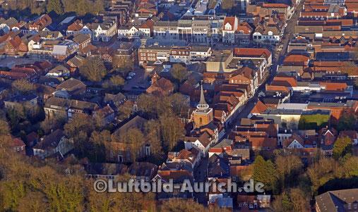 Die Lambertikirche in Aurich