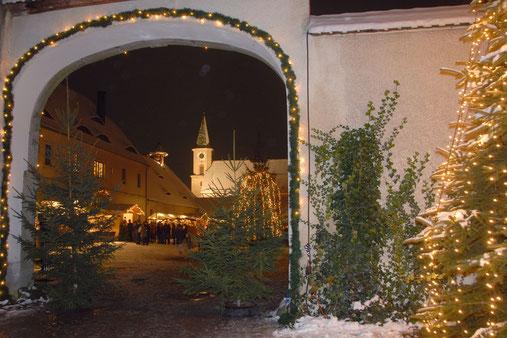 Friedenfelser Weihnachtsmarkt, Foto Siegfried Steinkohl
