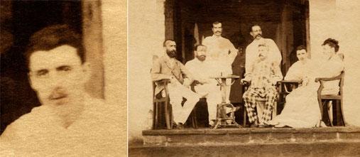 Rimbaud presso l'Hôtel de l'Univers, Aden