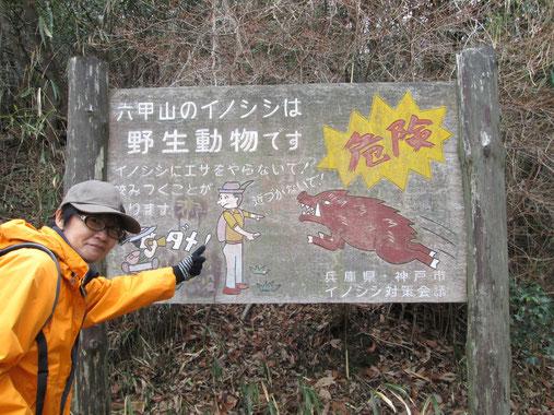 兵庫県・六甲山にて