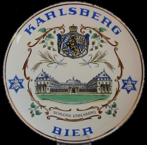 Karlsberg Brauerei Homburg Saar Teller