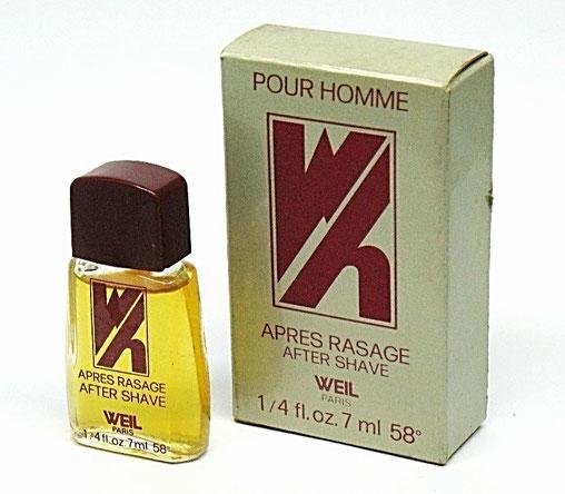 W - APRES-RASAGE POUR HOMME 7 ML