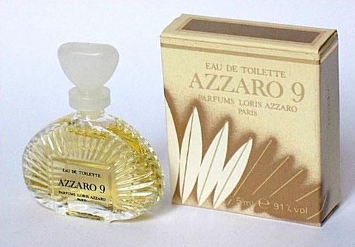 AZZARO 9 - MINIATURE EAU DE TOILETTE 5 ML
