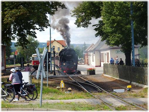 Mit Bahn Nostalgie Reisen unterwegs!