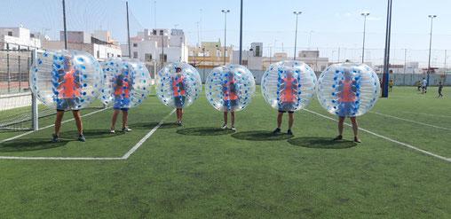 bubble futbol cadiz