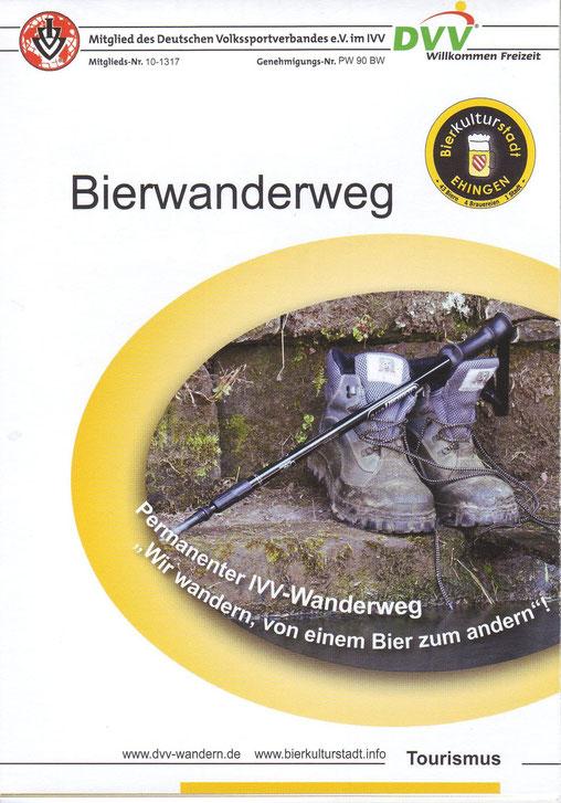Titelseite unserer PW-Ausschreibung