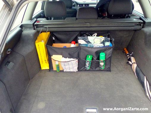 Este verano organiza bien tu coche antes de viajar - AorganiZarte