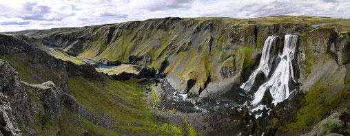 llb pics - islande - Fagrifoss - le long barbare