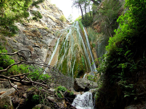 Limekiln Falls im gleichnamigen State Park