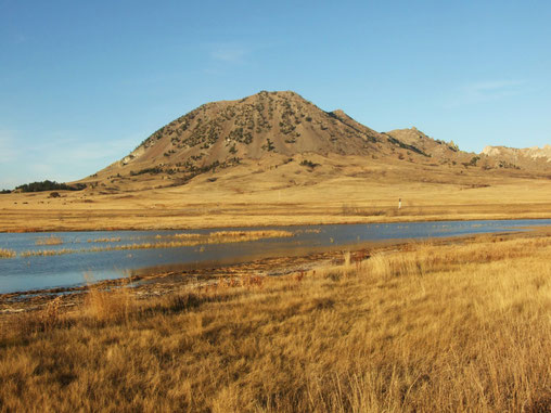Bear Butte, South Dakota in der Nähe von Sturgis