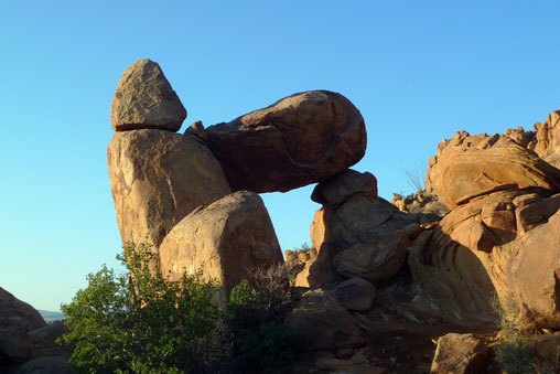 Balanced Rock: andere Seite