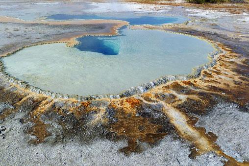 Doublet Pool im Upper Geyser Basin