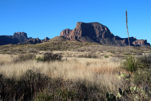 Casa Grande, Emory Peak und Pulliam Peak