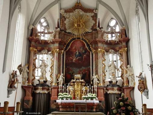 Hochaltar Mariä Himmelfahrt, Lichtenfels