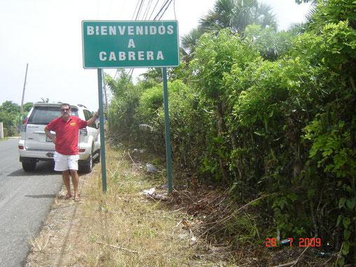 La località che mi ha ospitato a nord dell'isola caraibica