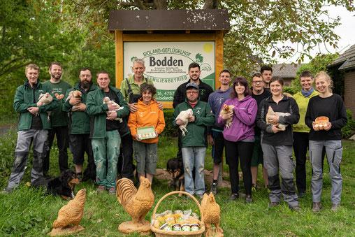 Familie Bodden und Team 2018/ 19
