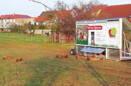 Hühnermobil Altlußheim