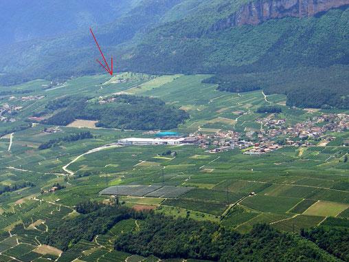 Flugplatz Termon Campodenno (TN)  03 - Tel: 335 6360966 NHz: 130,00 Piste: 24~15% 46° 16' 00'' - 11° 02' 15''