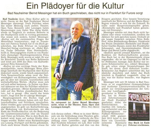 Ein Plädoyer für die Kultur, WZ 15.03.2014, Text: koe, Foto: Nici Merz