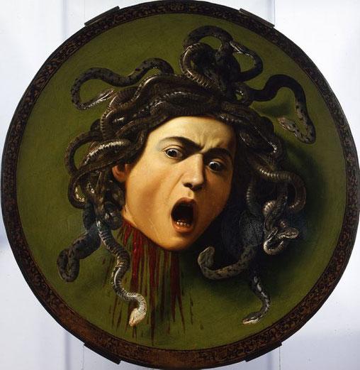 Самые известные картины Караваджо - Медуза