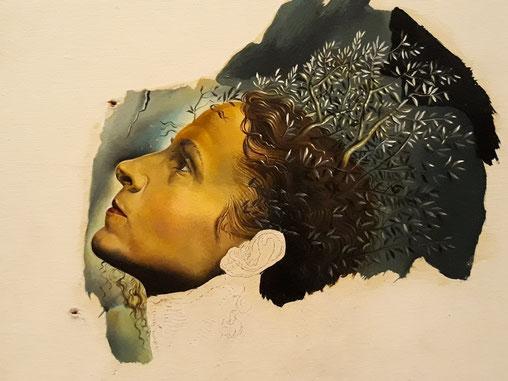 Набросок портрета Гала