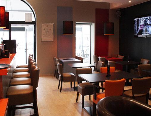 aménagement salle bar restaurant