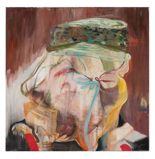 Der Kommandeur-         -Oil on canvas-      -2012-     -80x80cm