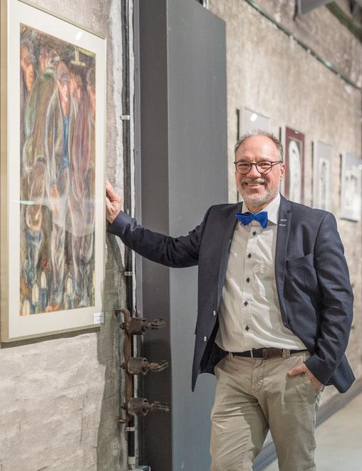 Wolfgang Büse, Ausstellung Vielfalt Glückauf 2017, Zeche Zollern Dortmund