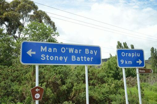 Man O'War, Waiheke Island