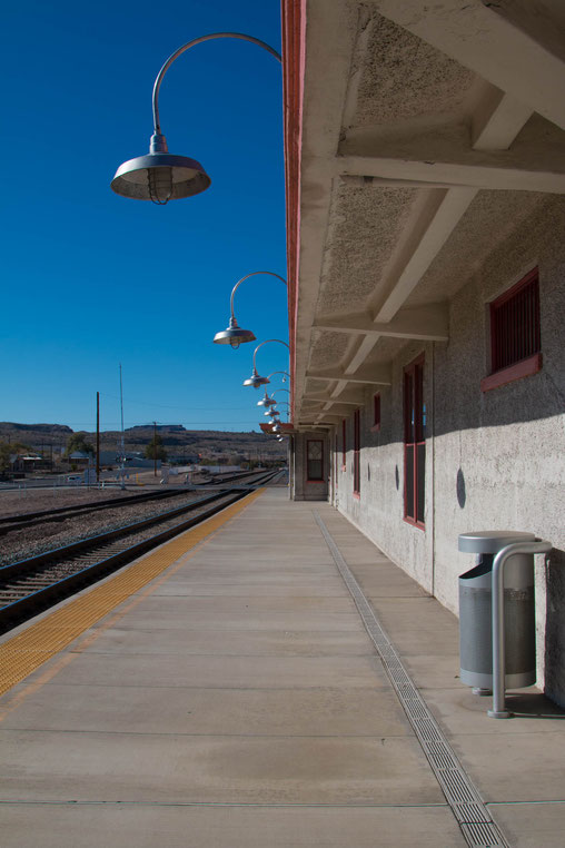 Route 66, Bahnhof Kingman
