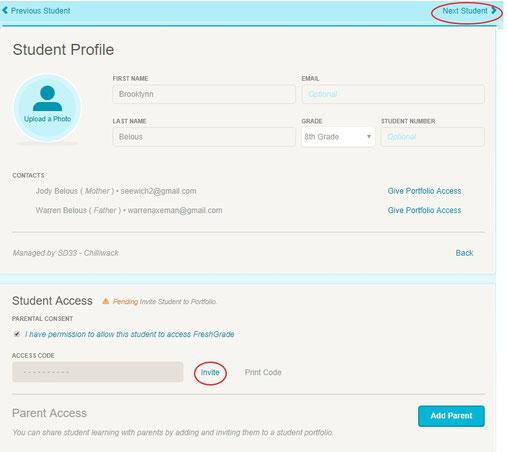FG: Student & Parent Access - CMS Computers