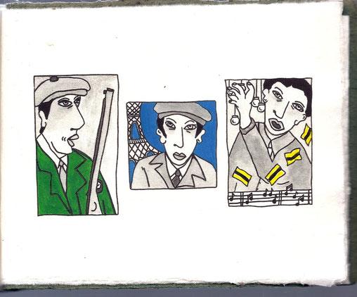Isabelle Marsala : Illustration pour Max Rouquette