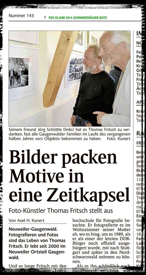 Pressetext Freudenstadt Schwarzwälder Bote