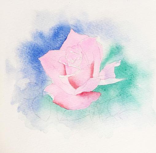 水彩画の描き方その3