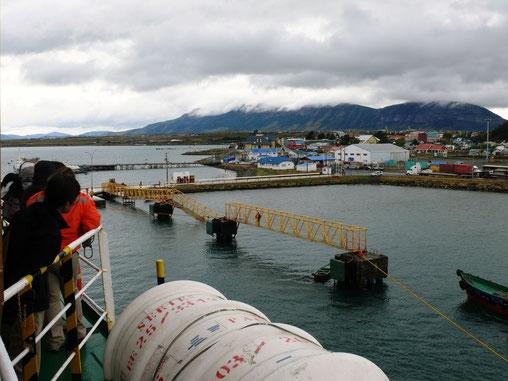 Ankommen in Puerto Natales (Foto Jörg Schwarz)