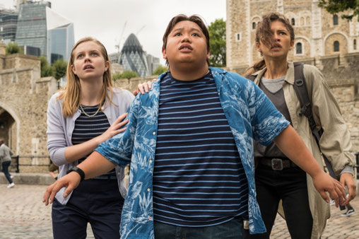 Spider-Man Far From Home Film Review FANwerk Deutsch Kritik Rezension MCU Marvel Avengers Endgame Mysterio Nick Fury Ned MJ