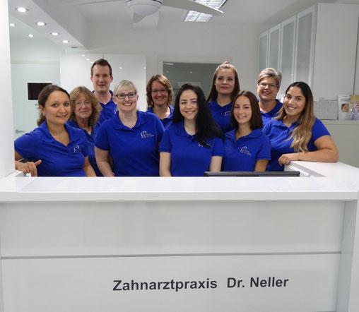 Mitarbeiter Praxisteam Dr. Neller