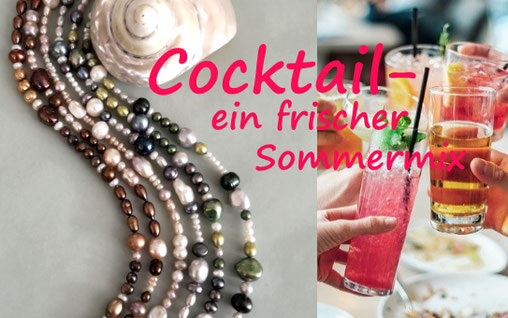 Perlenarmbänder aus Süßwasserperlen mit Silber und Edelsteinen, Perlenschmuck, Perlenkette