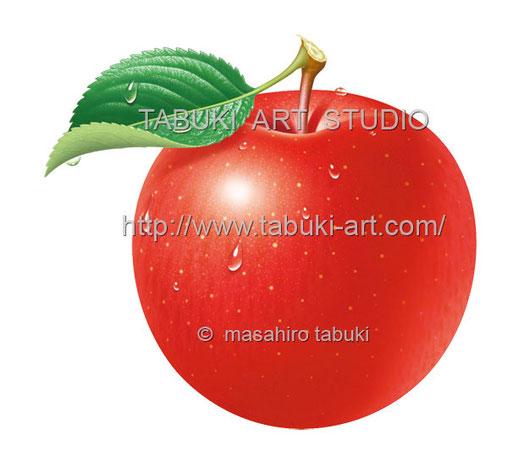 リンゴ丸水滴 RD10621
