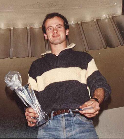 Laurent Cardin. Champion de France en Sport-Europe à sa première saison.