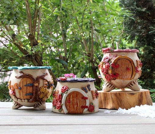 Keramik Kerzenrestefresser